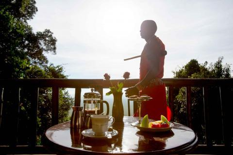 VIEWS OVER THE MASAI MARA FROM YOUR PRIVATE DECK