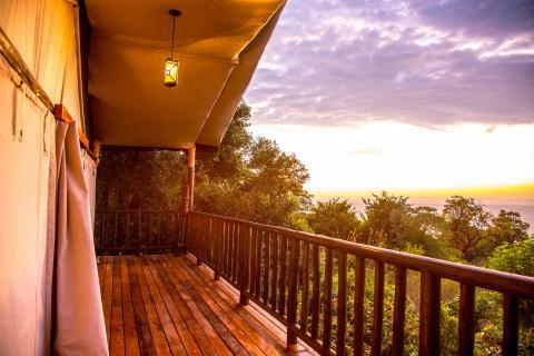EXPERIENCE THE SUNSET OVER THE MASAI MARA FOR YOUR PRIVATE VERANDA